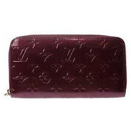 Louis Vuitton-Porte monnaie louis Vuitton-Rouge