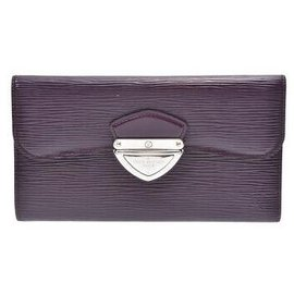 Louis Vuitton-Louis Vuitton Portefeuille Eugénie-Violet