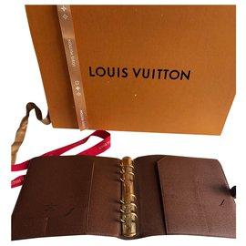 Louis Vuitton-Bourses, portefeuilles, cas-Marron