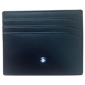 Montblanc-Crédit card holder Montblanc Meisterstuck pocket 6CC-Black