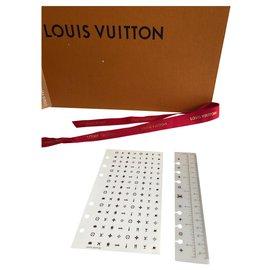 Louis Vuitton-Bourses, portefeuilles, cas-Blanc