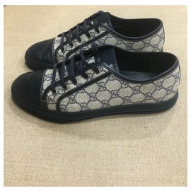 Gucci-Monogram sneakers-Blue