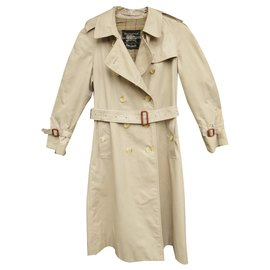 Burberry-vintage Burberry trench 6 UK (34/36 fr)-Beige