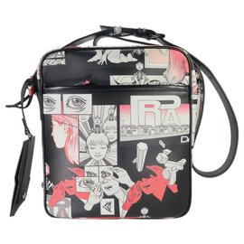 Prada-Sacs Porte-documents-Multicolore