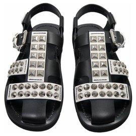 Prada-Men Sandals-Black