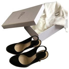 Christian Dior-Heels-Black