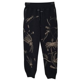 Dries Van Noten-Pantalons, leggings-Noir