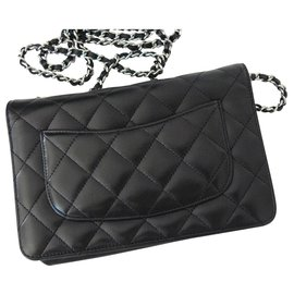 Chanel-WOC Wallet on Chain-Black