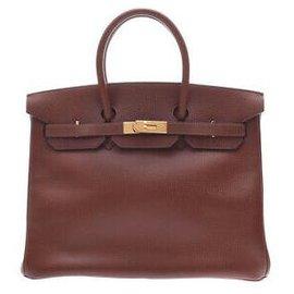 Hermès-HERMES BIRKIN 35-Brown
