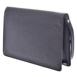 Louis Vuitton-Louis Vuitton Cartable-Noir