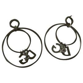 Dolce & Gabbana-Boucles d'oreilles-Argenté