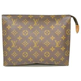 Louis Vuitton-Toilette Louis Vuitton Poche 26-Marron