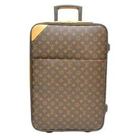 Louis Vuitton-Louis Vuitton Pegase 55-Marron