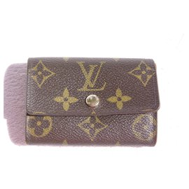Louis Vuitton-porte monnaie-Marron