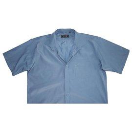 Versace-chemises-Bleu