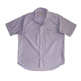 Thomas Burberry-Shirts-Purple