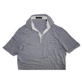 Ermenegildo Zegna-Polos-Grey