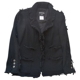 Chanel-Jacket-Black