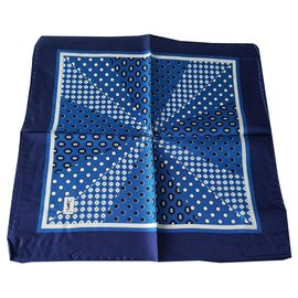 Yves Saint Laurent-Men Scarves-Blue