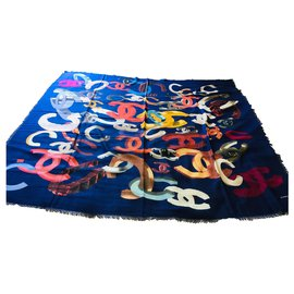 Chanel-shawl-Multiple colors