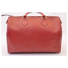 Louis Vuitton-Louis Vuitton Speedy 30-Rouge