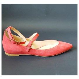 Chloé-Ballet flats-Red