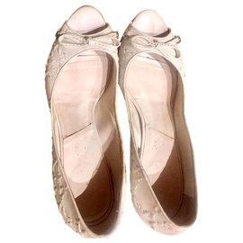 Dior-Sandales Dior-Blanc cassé