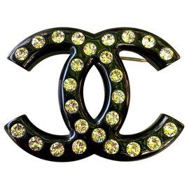 Chanel-DC chanel pin-Black
