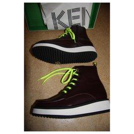 Kenzo-Sneakers-Dark red