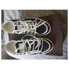 Louis Vuitton-Sneakers-Navy blue