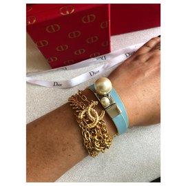Christian Dior-Bracelets-Bleu clair