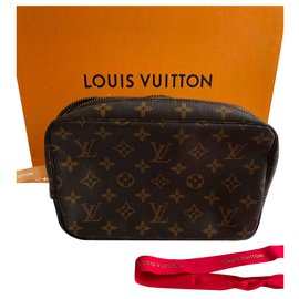 Louis Vuitton-Pochettes-Marron