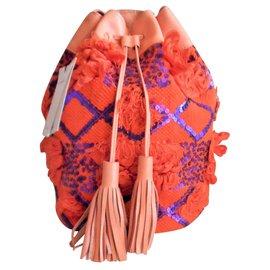 Antik Batik-Handbags-Orange
