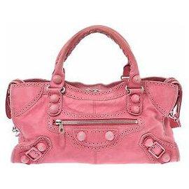 Balenciaga-Balenciaga city-Pink