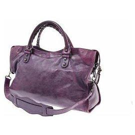 Balenciaga-Balenciaga city-Purple