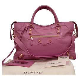 Balenciaga-Giant City gold-Pink