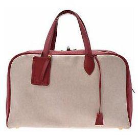 Hermès-Hermès Victoria 43-Rouge