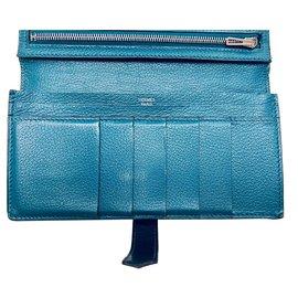 Hermès-Hermes  Bearn-Blue