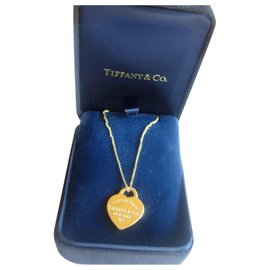 Tiffany & Co-Necklace pe,DE,Return to Tiffany tifany in yellow gold 750/000-Golden