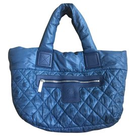 Chanel-Chanel Cocoon bag-Blue