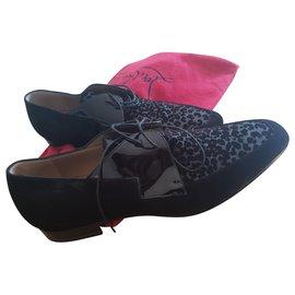 Christian Louboutin-Loafers Slip ons-Black