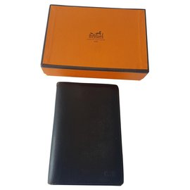 Hermès-Wallets Small accessories-Black