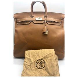 Hermès-HAUT A COURROIES 50 cm-Golden