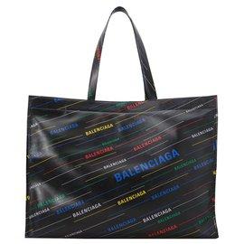 """Balenciaga-Balenciaga """"Market Shopper"""" sac de courses-Noir"""