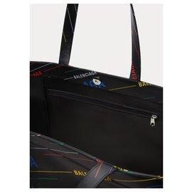 """Balenciaga-Balenciaga """"Market Shopper"""" shopping bag-Black"""