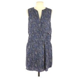 Comptoir Des Cotonniers-robe-Navy blue