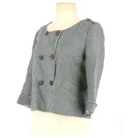 Comptoir Des Cotonniers-Vest / Blazer-Blue