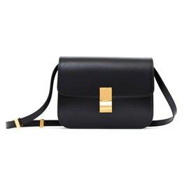 Céline-CLASSIC BOX BLACK NEW-Black