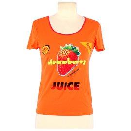 Dolce & Gabbana-T-shirt-Orange