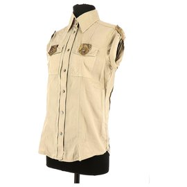 Dolce & Gabbana-Shirt-Beige
